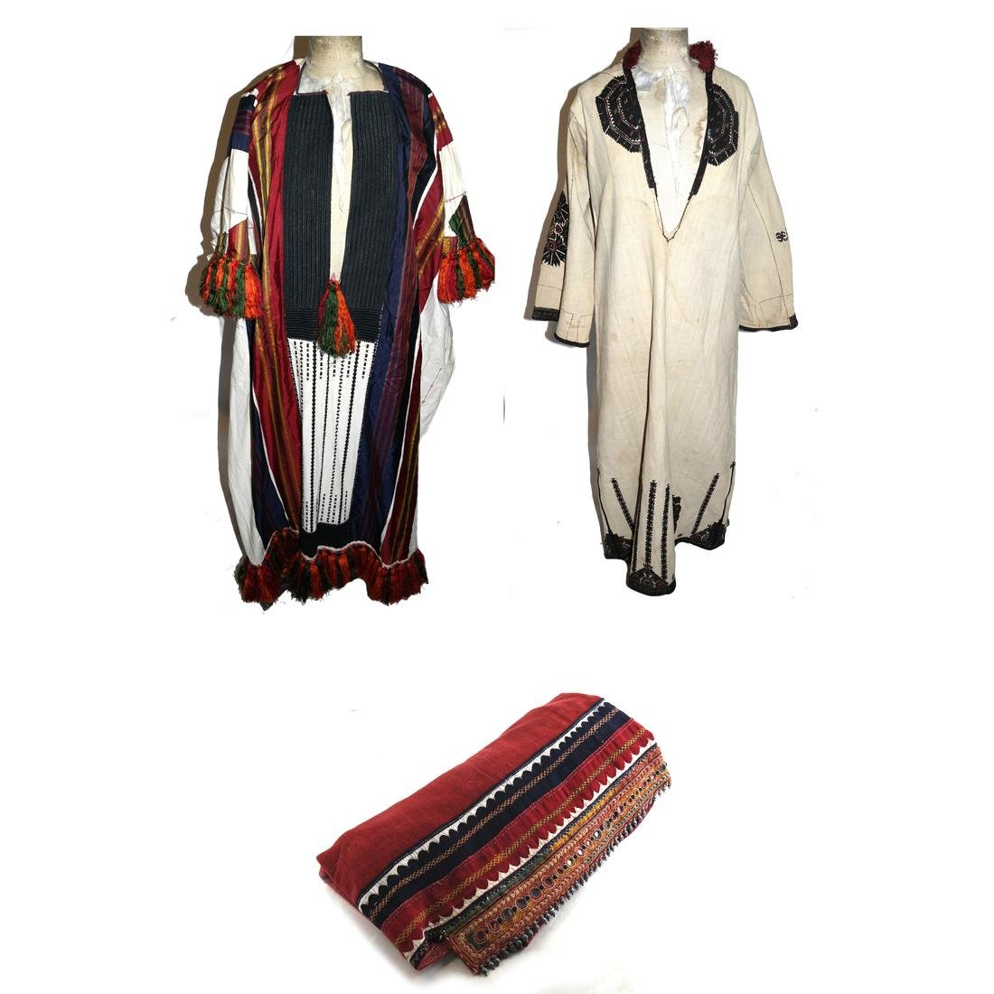 Antique Central Asian Robe and Another