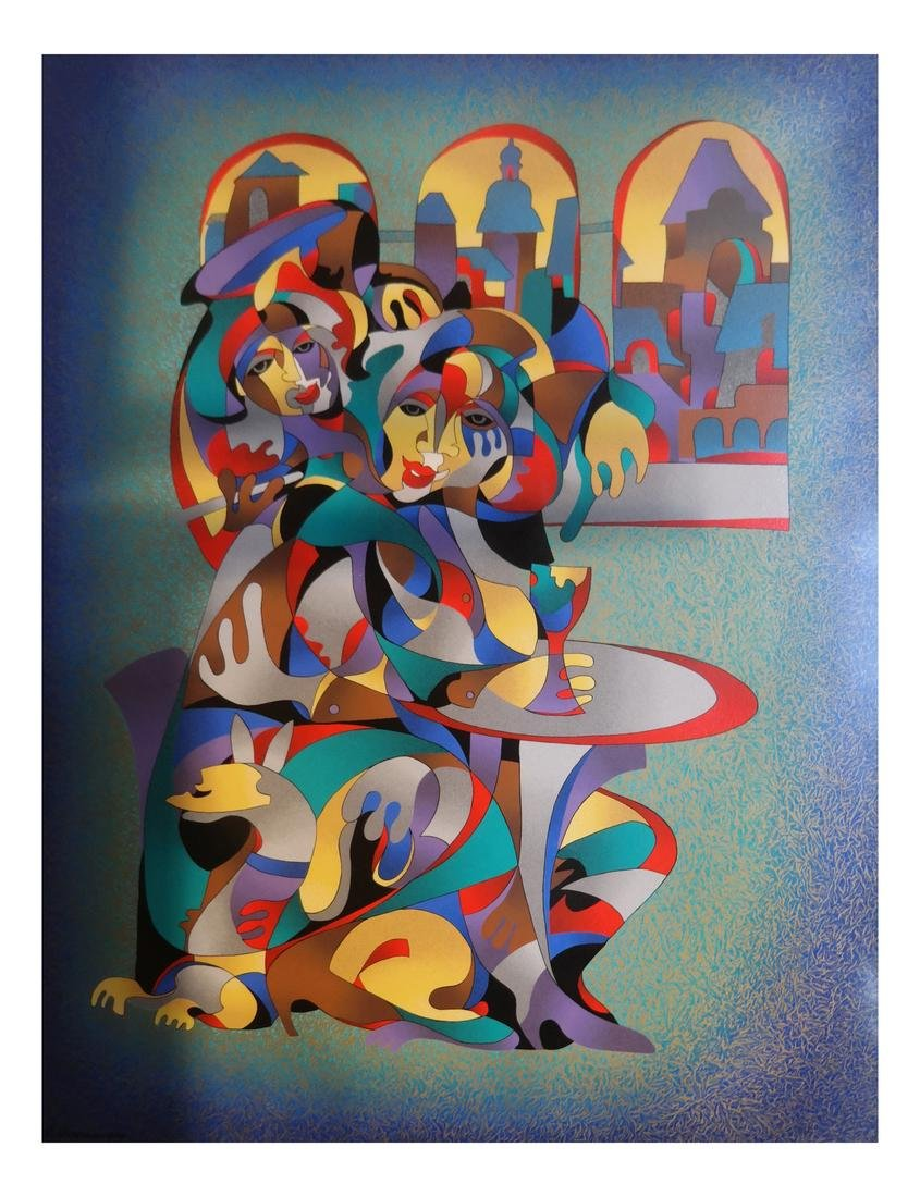 Kraspytsky Print - Theatrical Figures