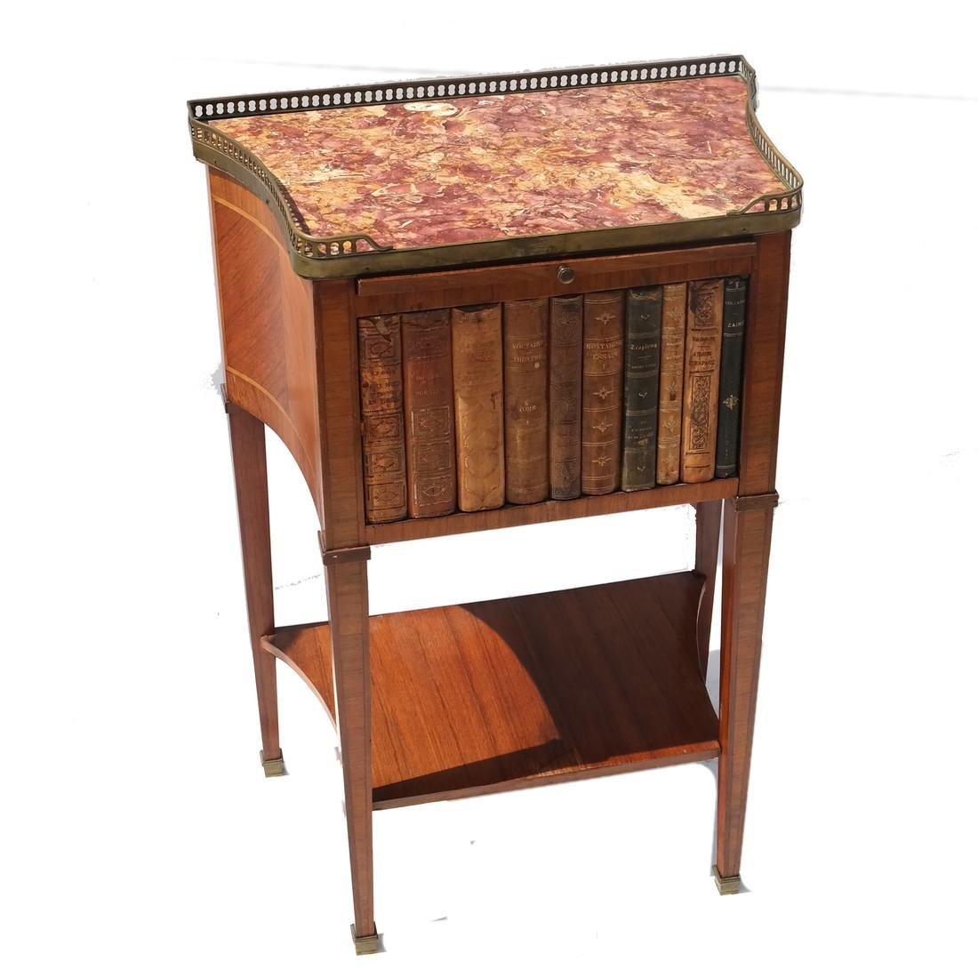 19th Century French Faux Book Stand