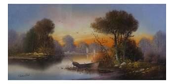 William Henry Chandler, Autumn Landscape