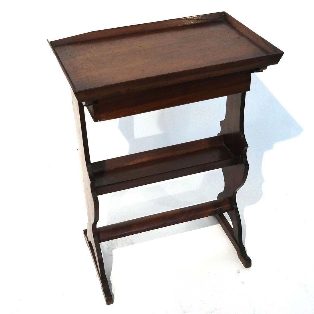 Antique Single-Drawer Stand