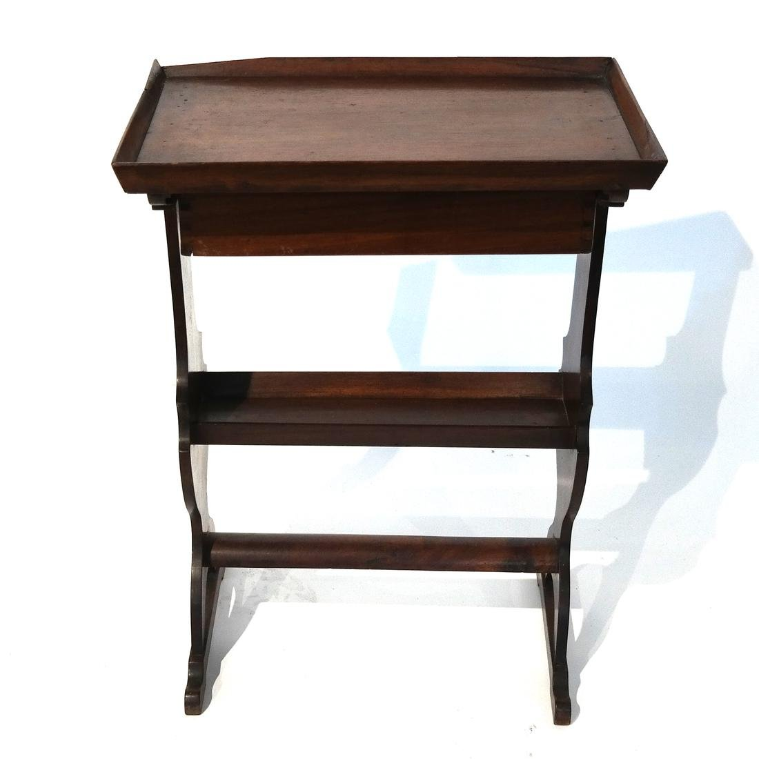 Antique Single-Drawer Stand - 2