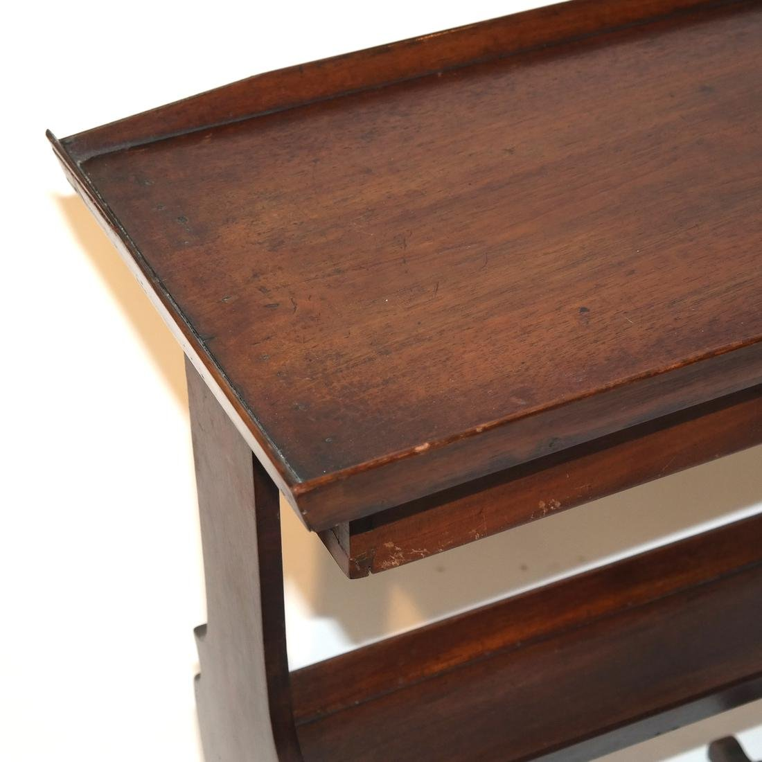 Antique Single-Drawer Stand - 3