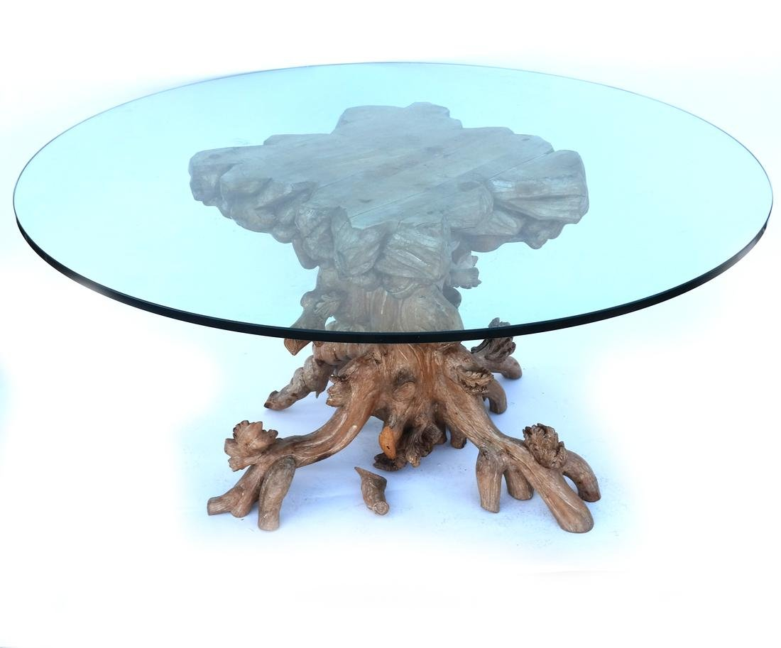 Black Forest-Style Dining Table