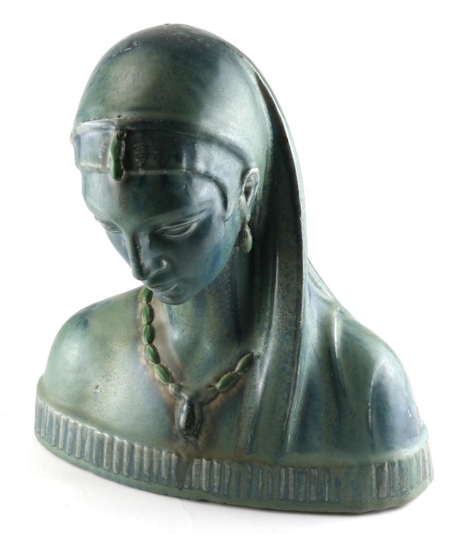 F. Steinberger Ceramic Bust