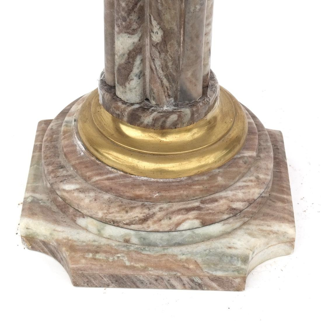 Classical-Style Marble Top Table - 4
