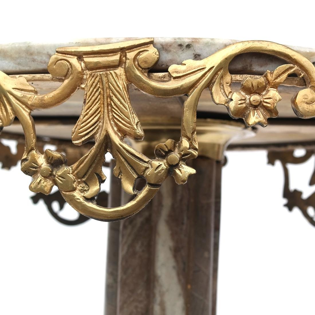 Classical-Style Marble Top Table - 5