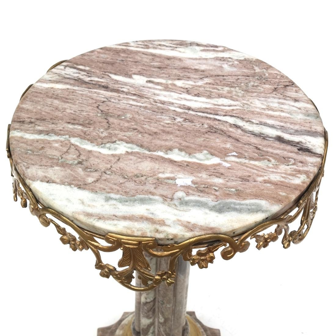 Classical-Style Marble Top Table - 6