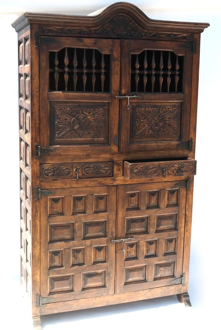 Mexican Colonial Cabinet