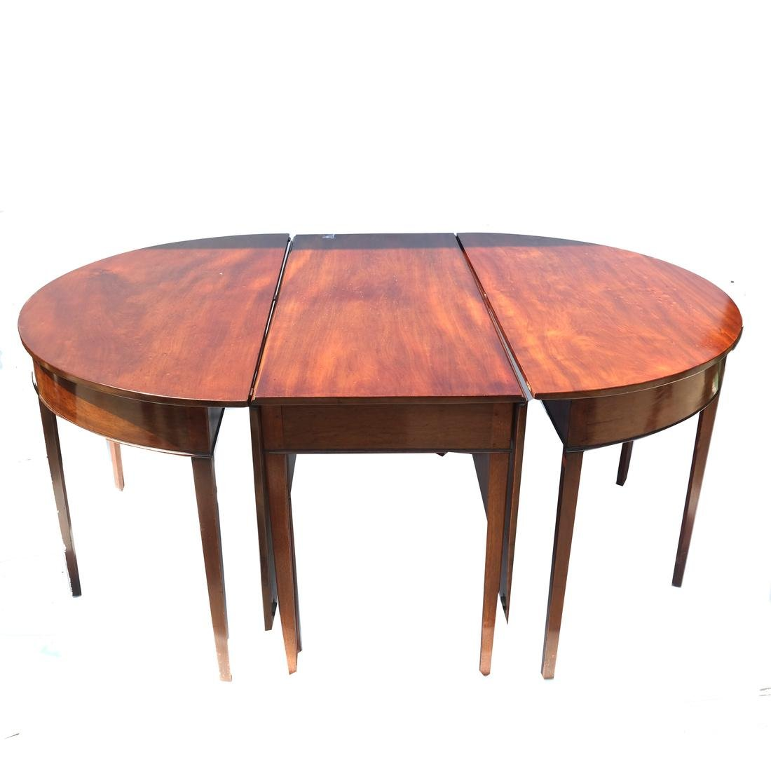 Federal 3-Part Dining Table - 2