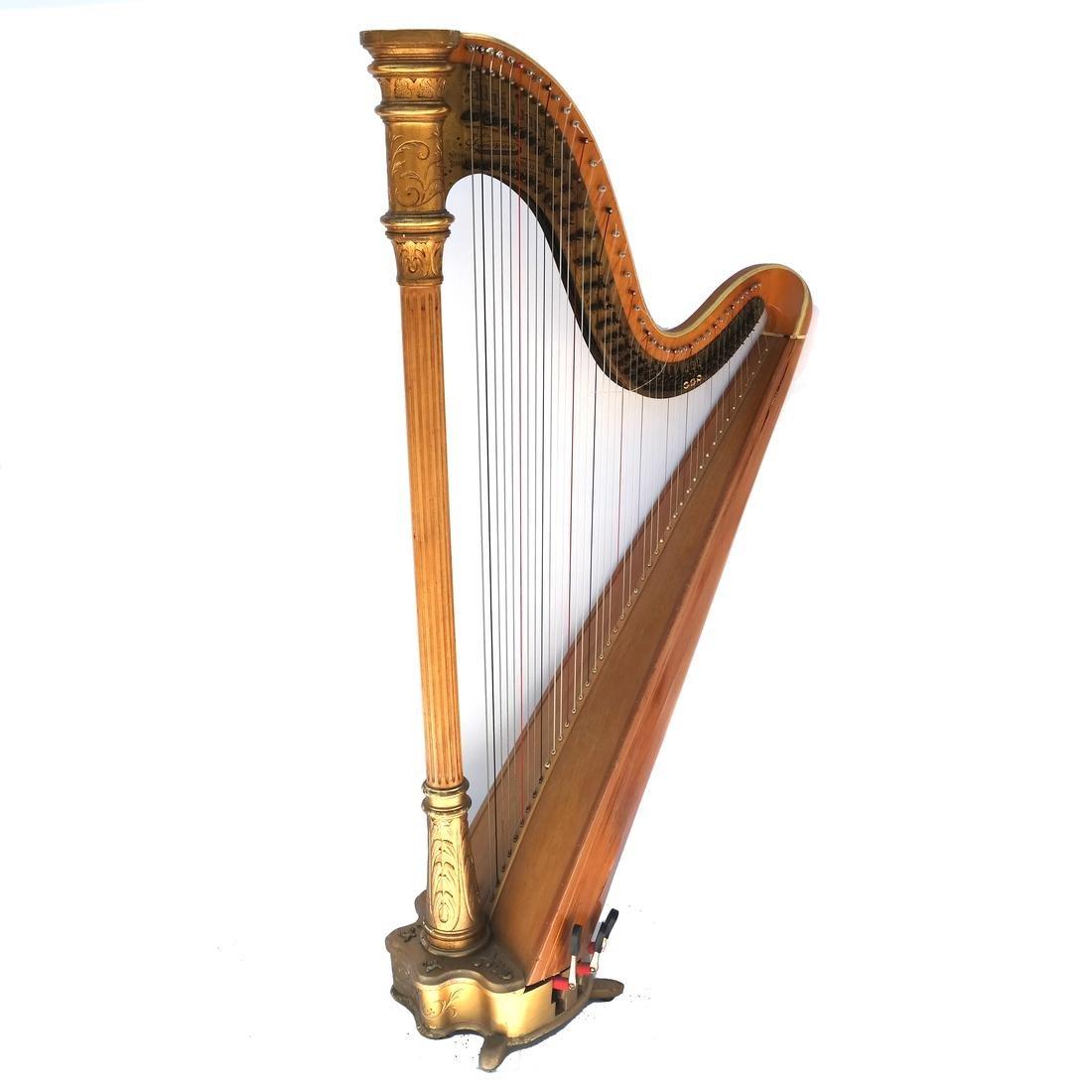 Lyon & Healy Harp, No. 148, Style H