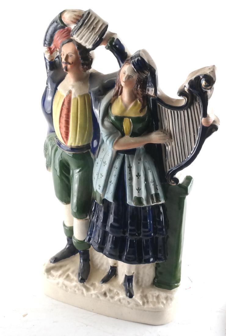 Staffordshire Pottery, Irish Musicians
