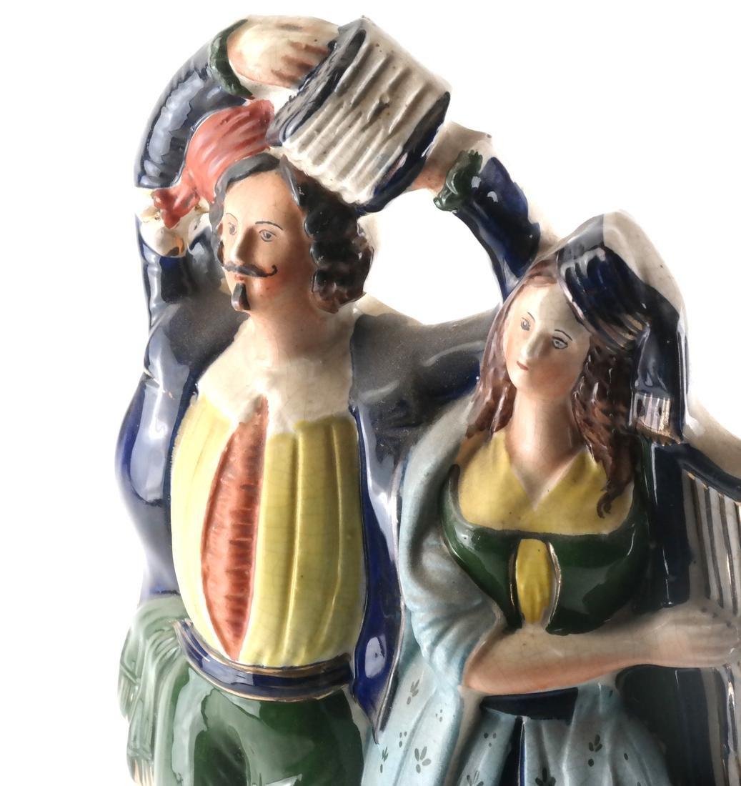 Staffordshire Pottery, Irish Musicians - 2
