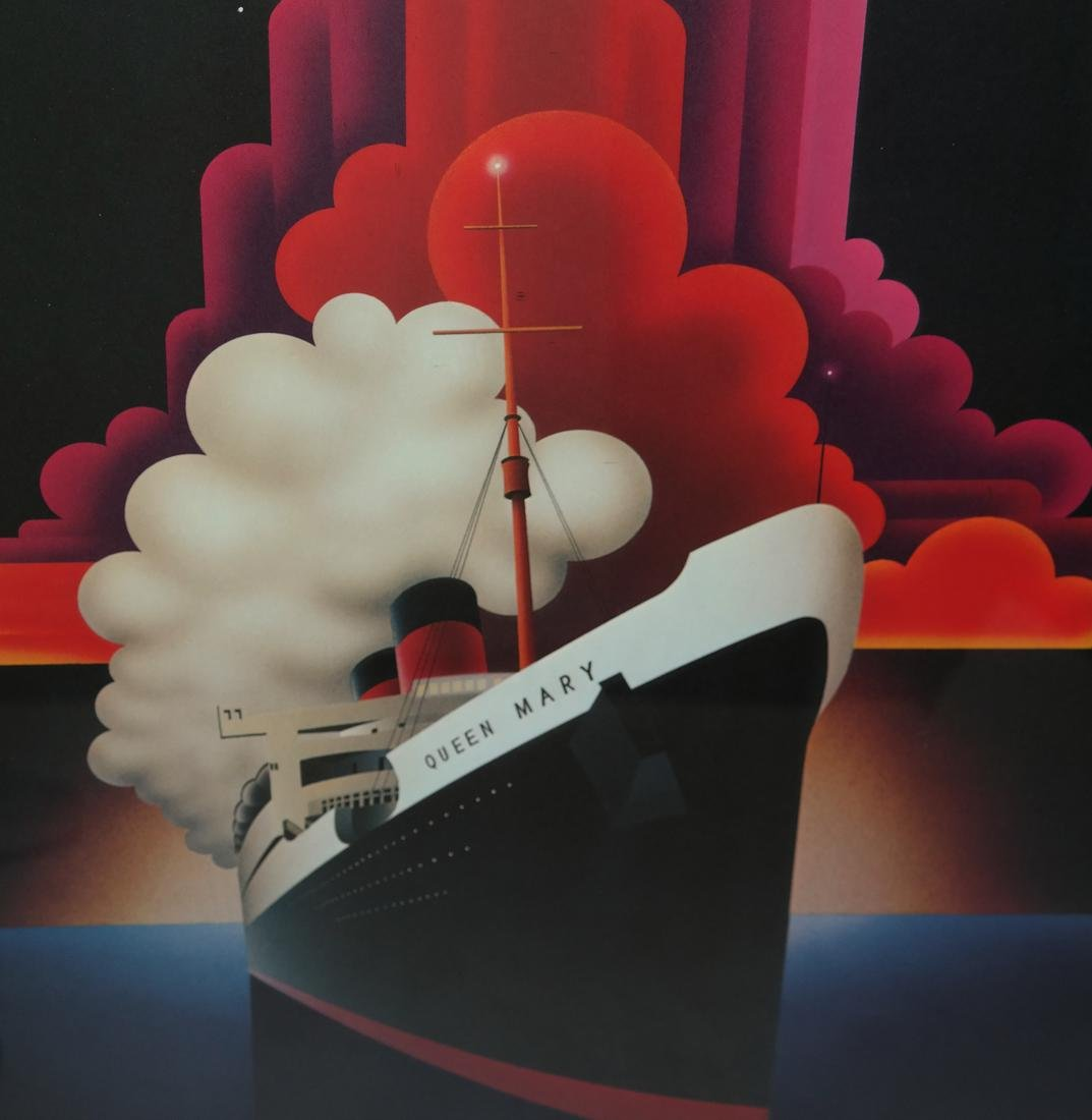 Queen Mary Commemorative Poster - 3
