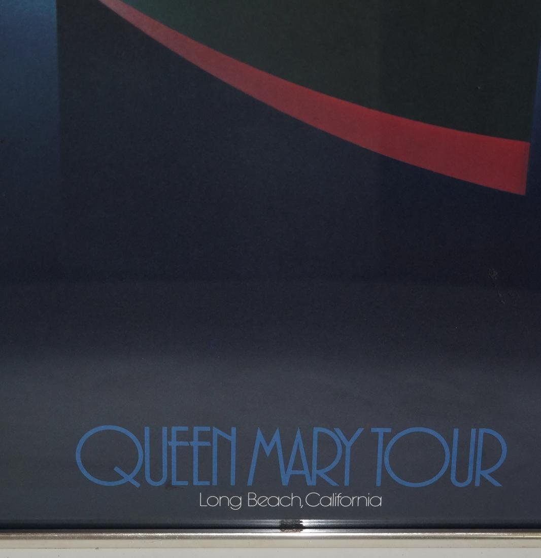 Queen Mary Commemorative Poster - 4