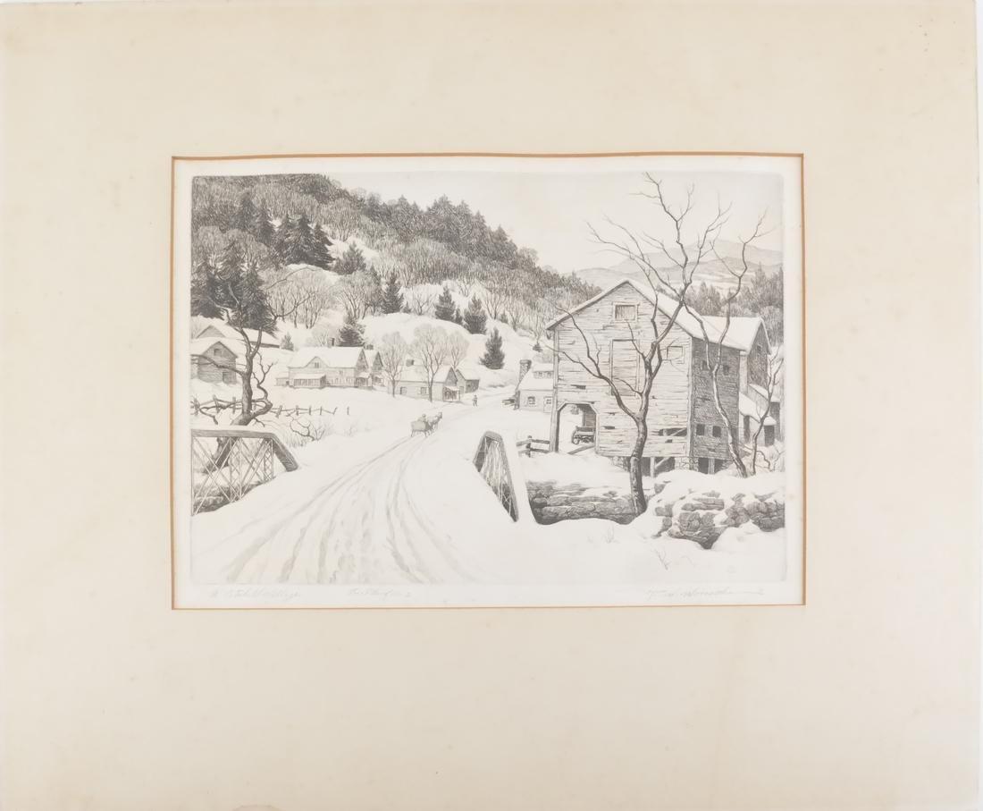 Ronau William Woiceske, Three Etchings - 2