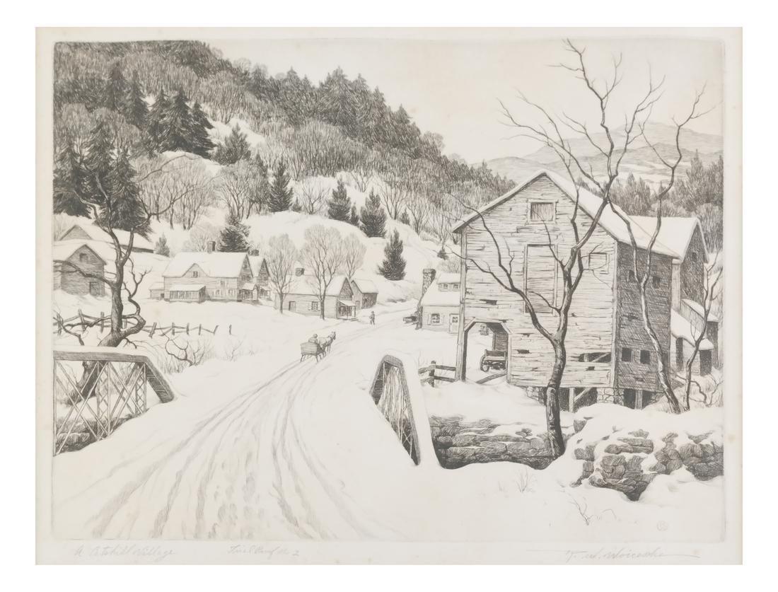 Ronau William Woiceske, Three Etchings - 3