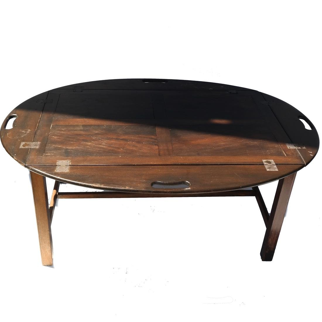 Butler's-Style Coffee Table - 4