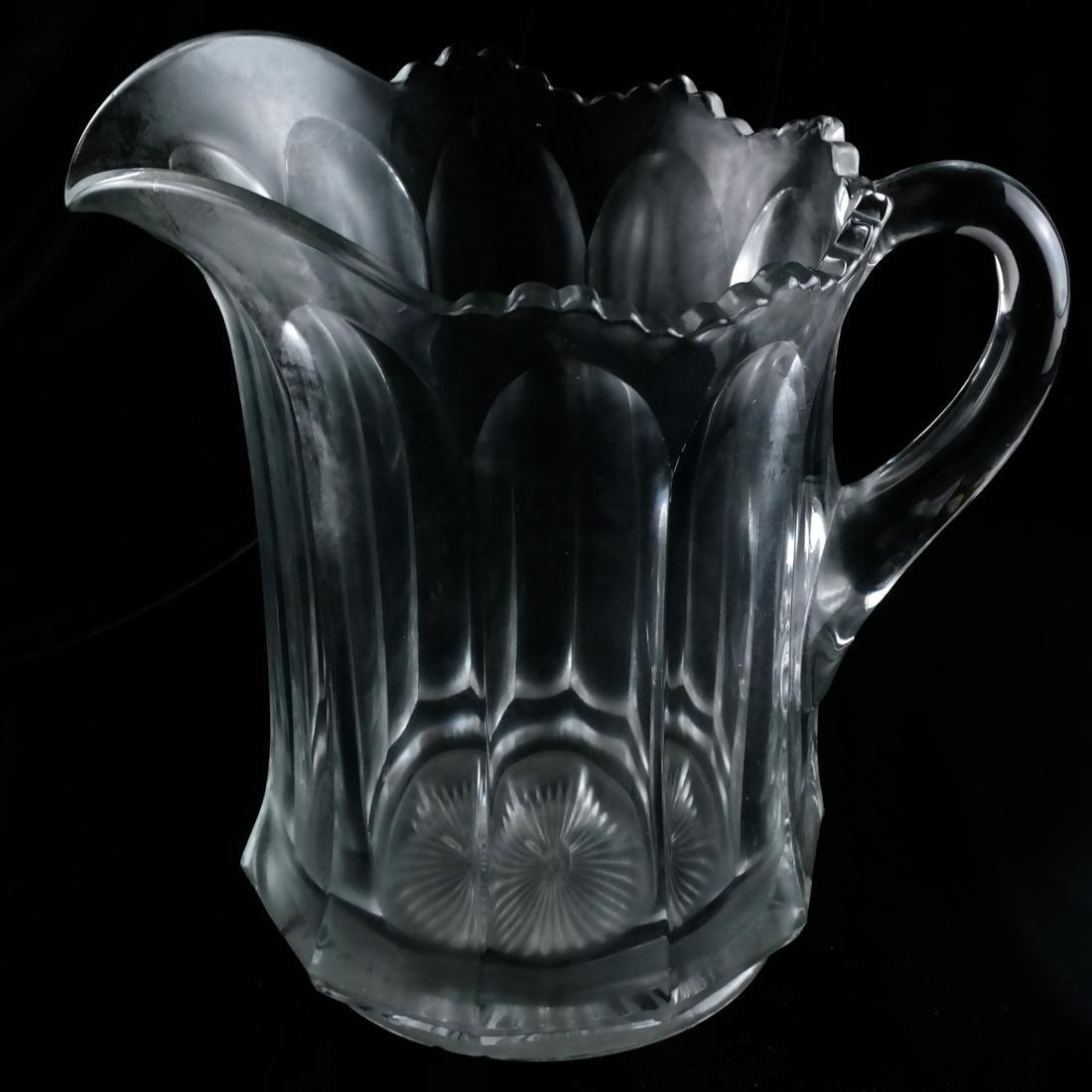 Three Glass Pitchers - 2