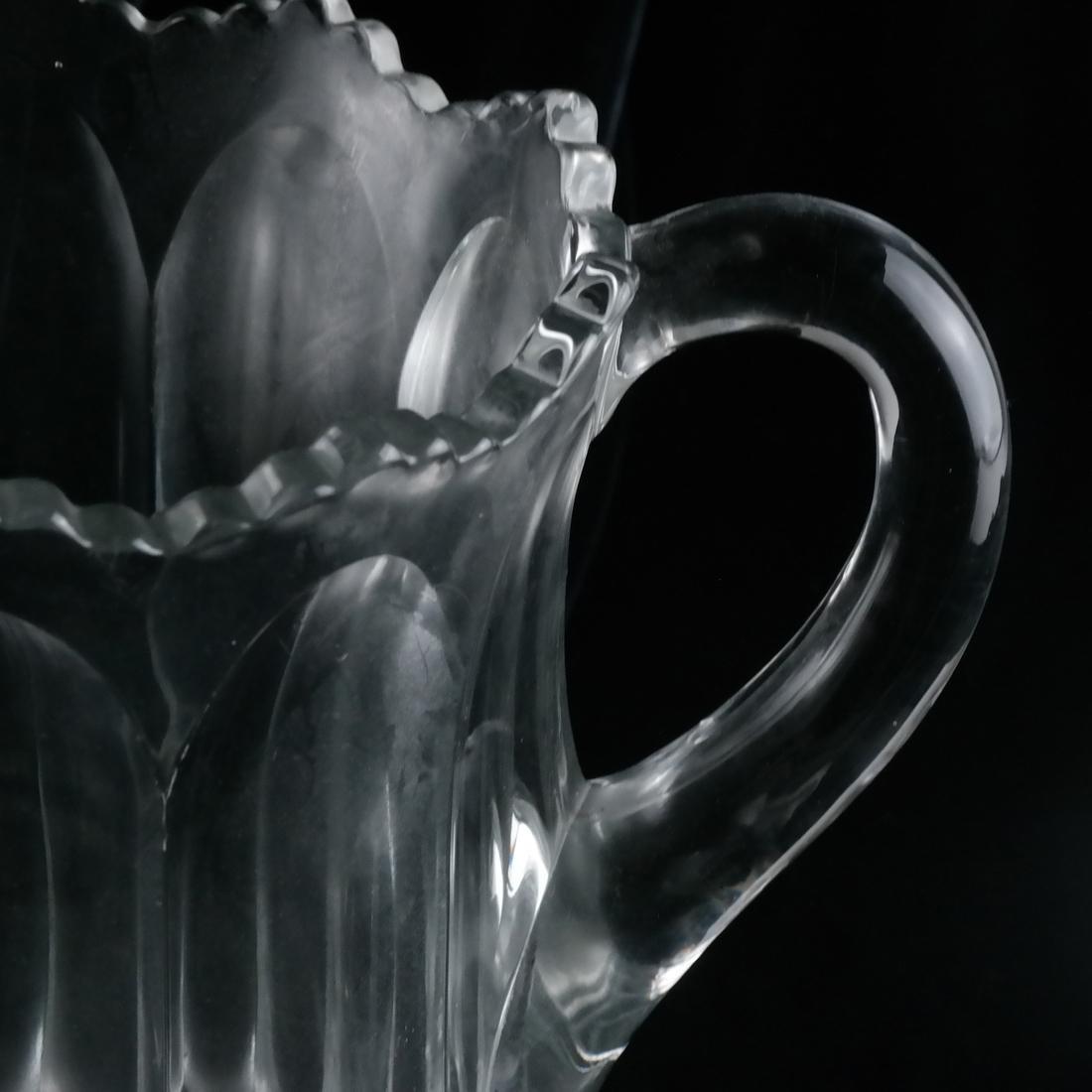 Three Glass Pitchers - 3