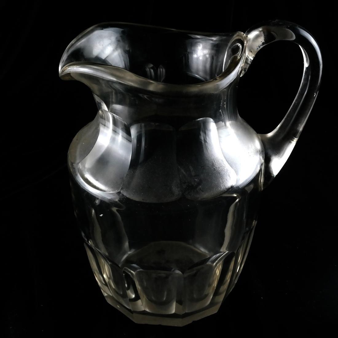 Three Glass Pitchers - 5