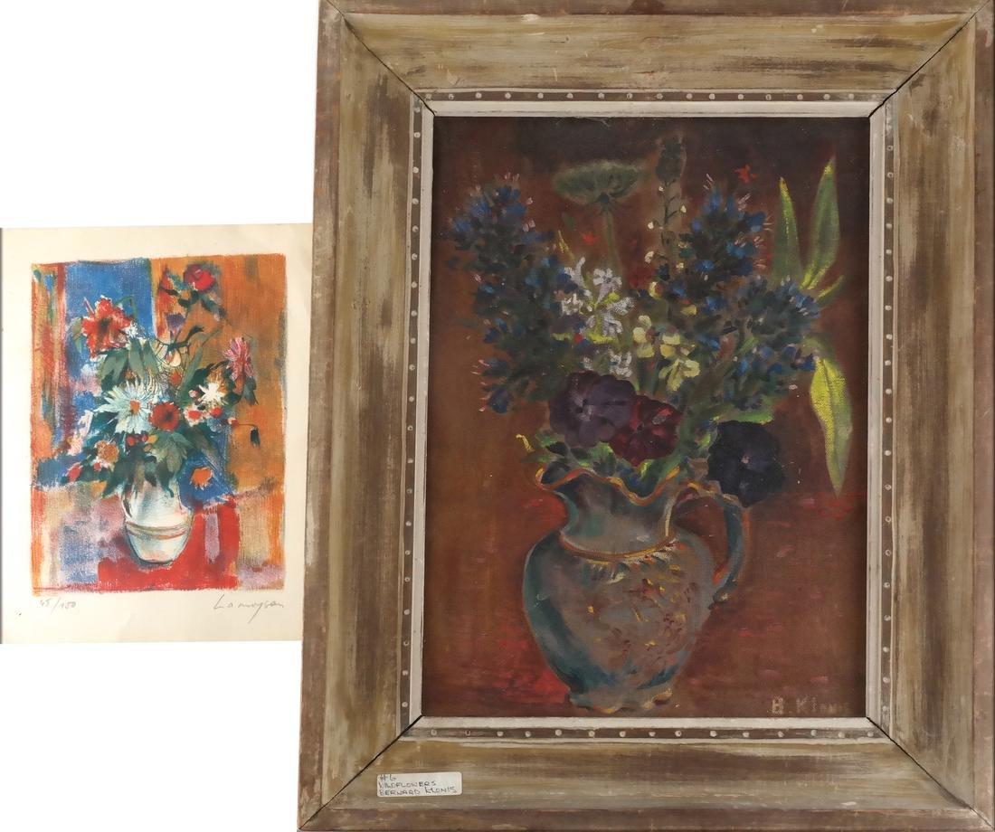 B. Klonis O/C and M Cramoysan Drawing