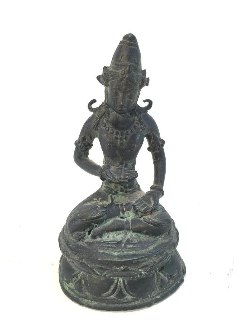 Antique Bronze Sculpture of Buddha