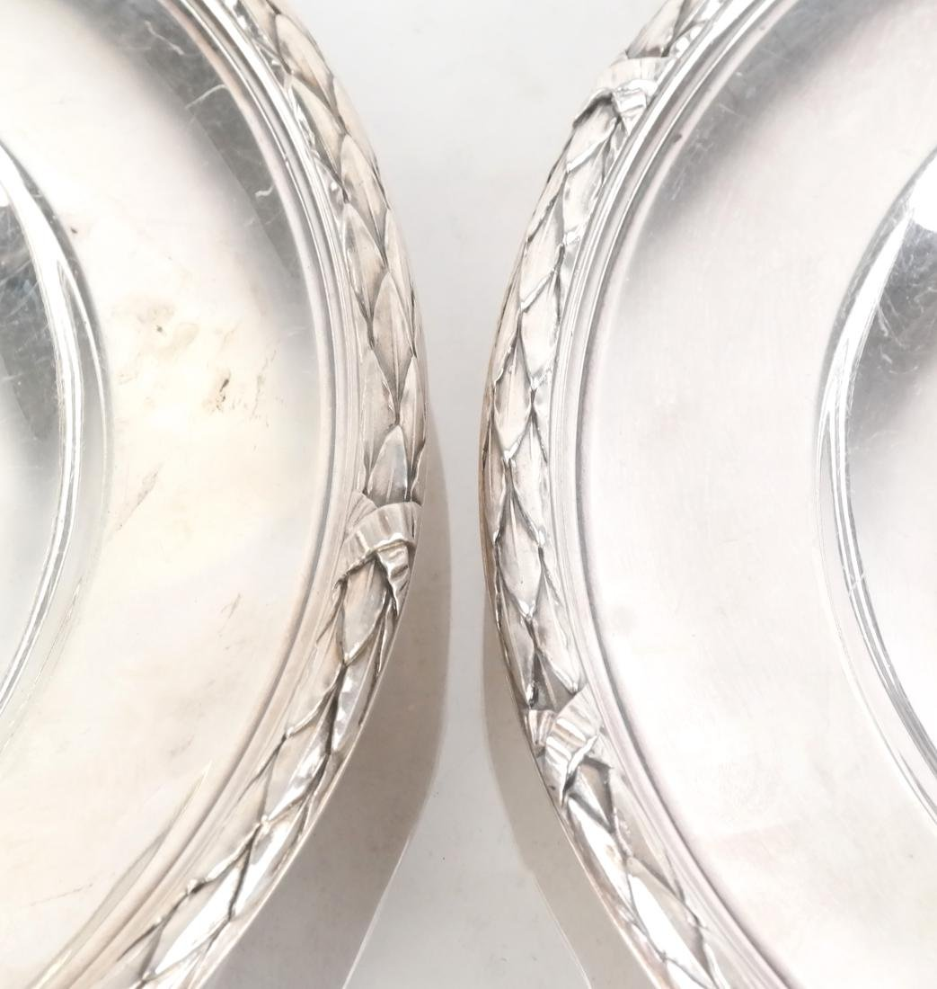 Pair of French Silver Serving Dishes - 3