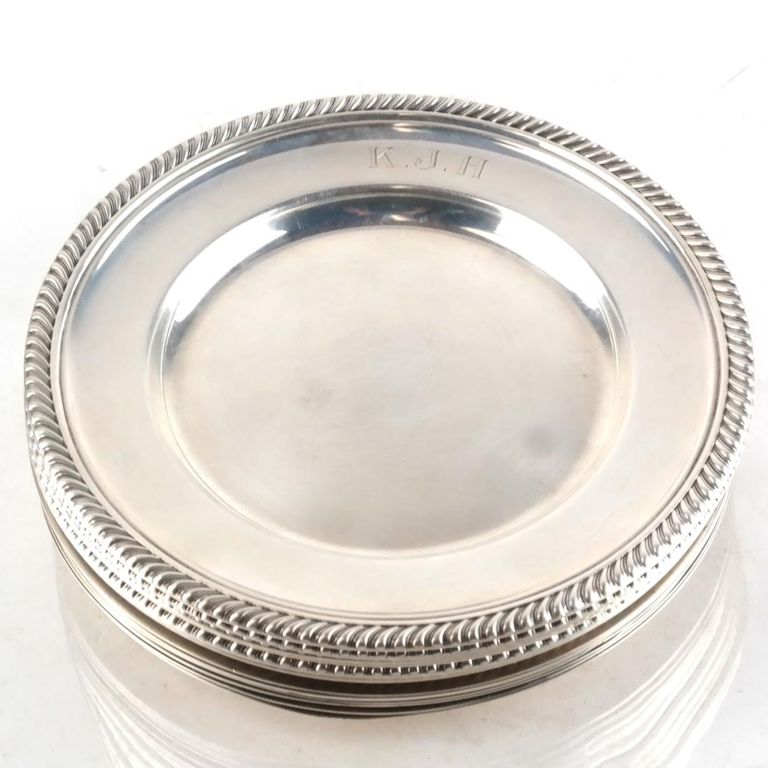 15 Wallace & Gorham Sterling Plates