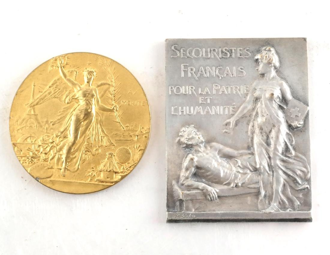 Five Art Nouveau Medals & Plaques - 2