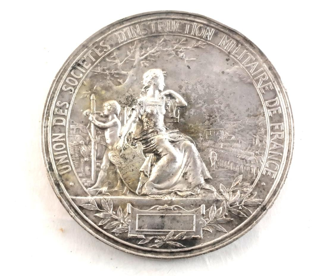 Five Art Nouveau Medals & Plaques - 4
