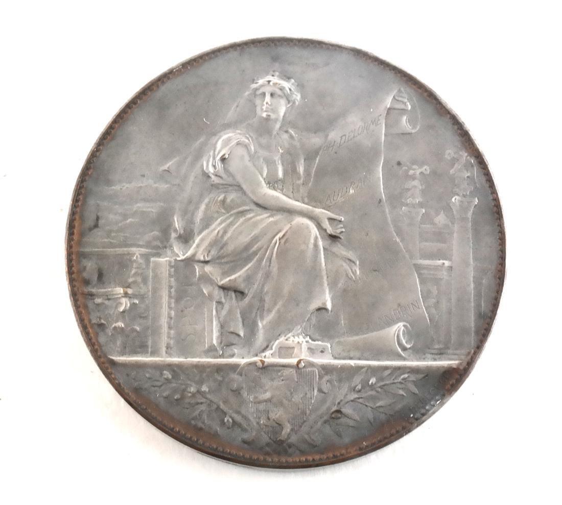 Five Art Nouveau Medals & Plaques - 6