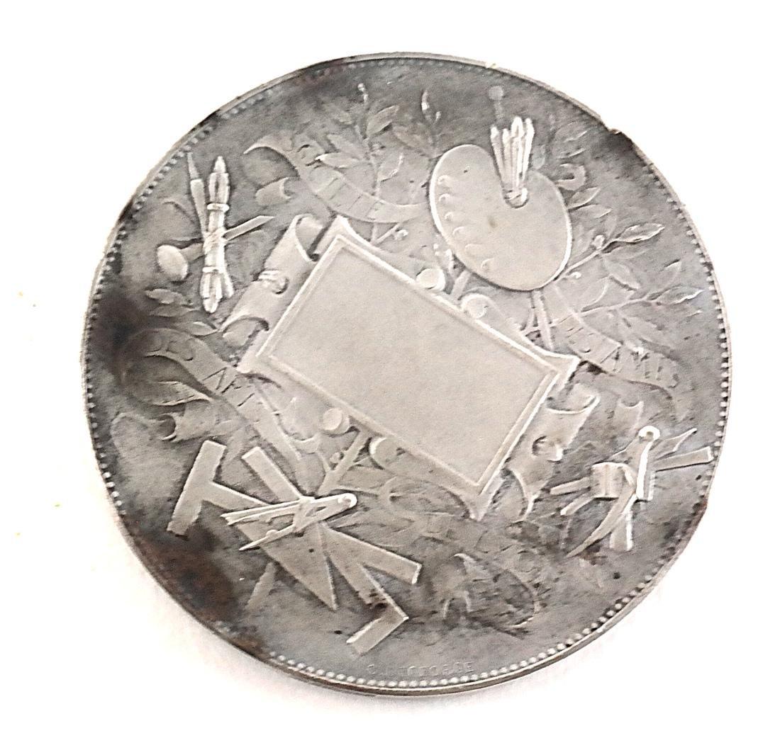 Five Art Nouveau Medals & Plaques - 7