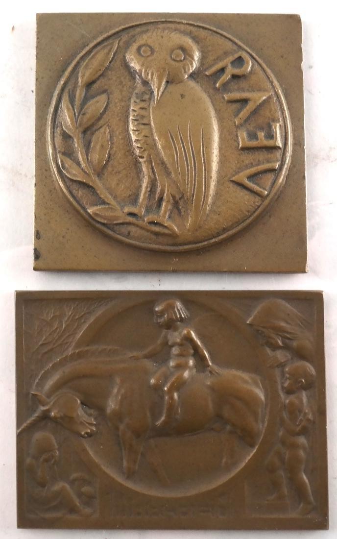 (8) Bronze Medals c. 1900, 1930, Later - 4