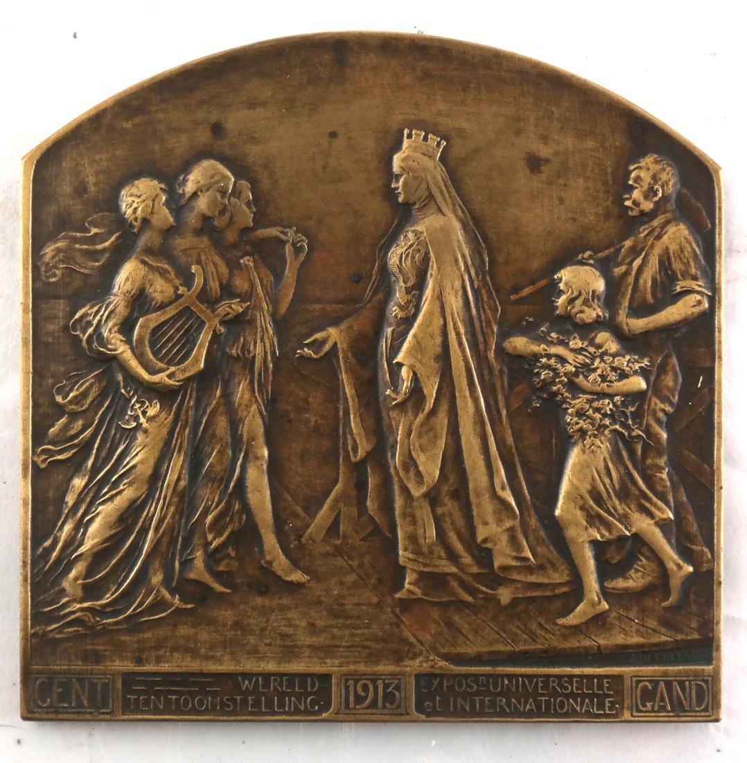 (8) Bronze Medals c. 1900, 1930, Later - 7