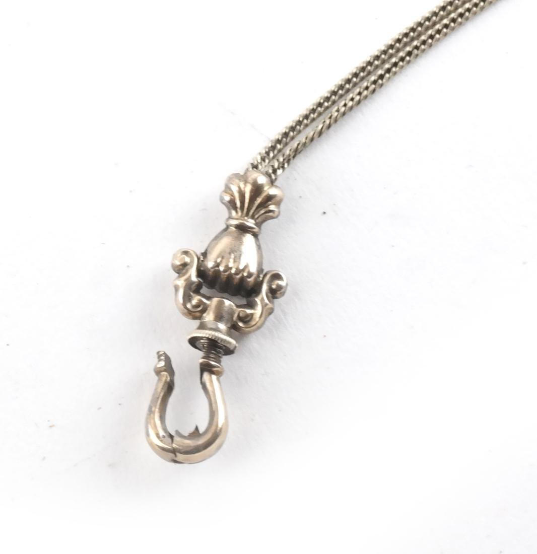 18k Yellow Gold Chain and Screw - 2
