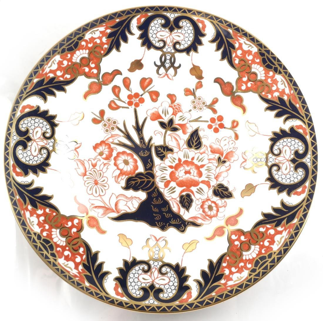 (2) Royal Crown Derby Cabinet Plates - 2