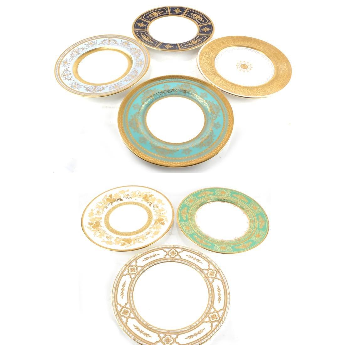Seven Minton Cabinet Plates