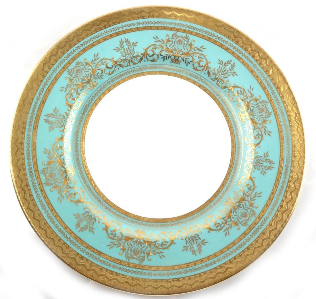 Seven Minton Cabinet Plates - 2
