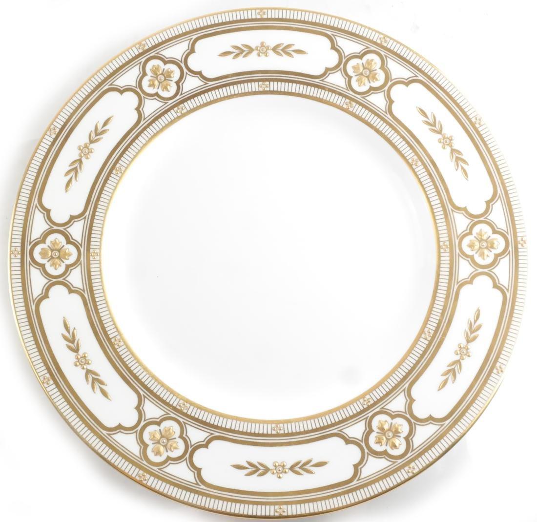 Seven Minton Cabinet Plates - 6
