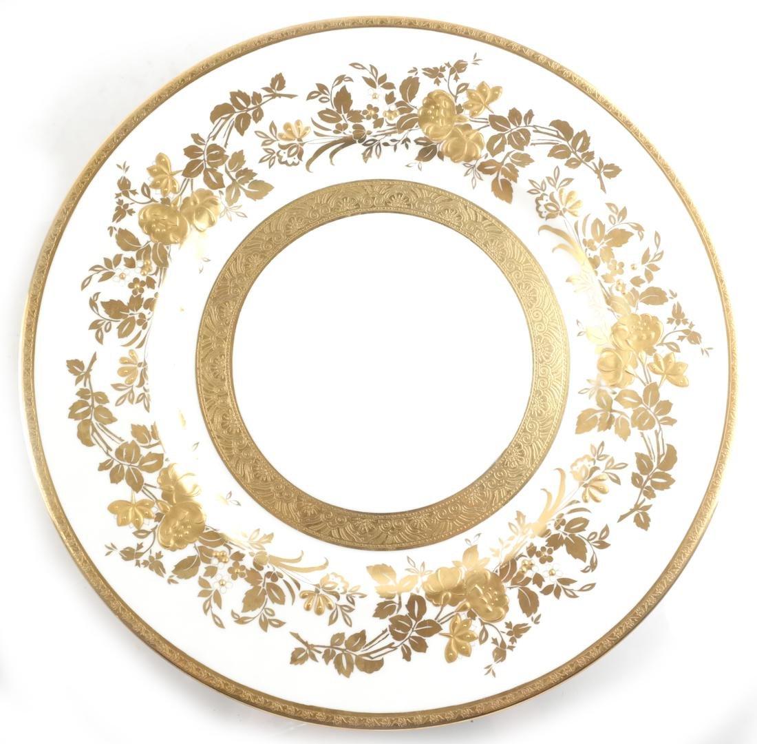 Seven Minton Cabinet Plates - 7