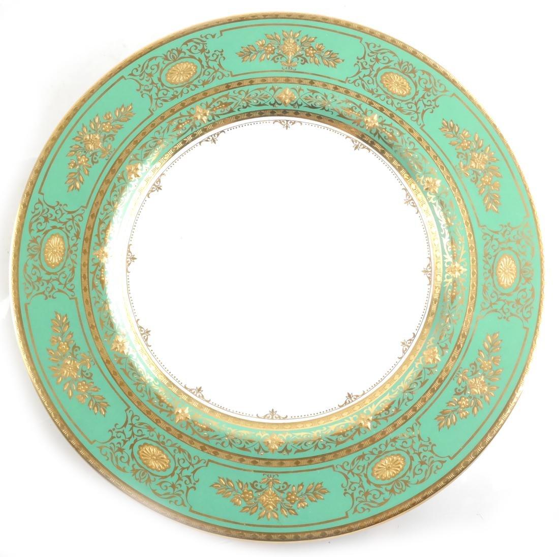 Seven Minton Cabinet Plates - 8