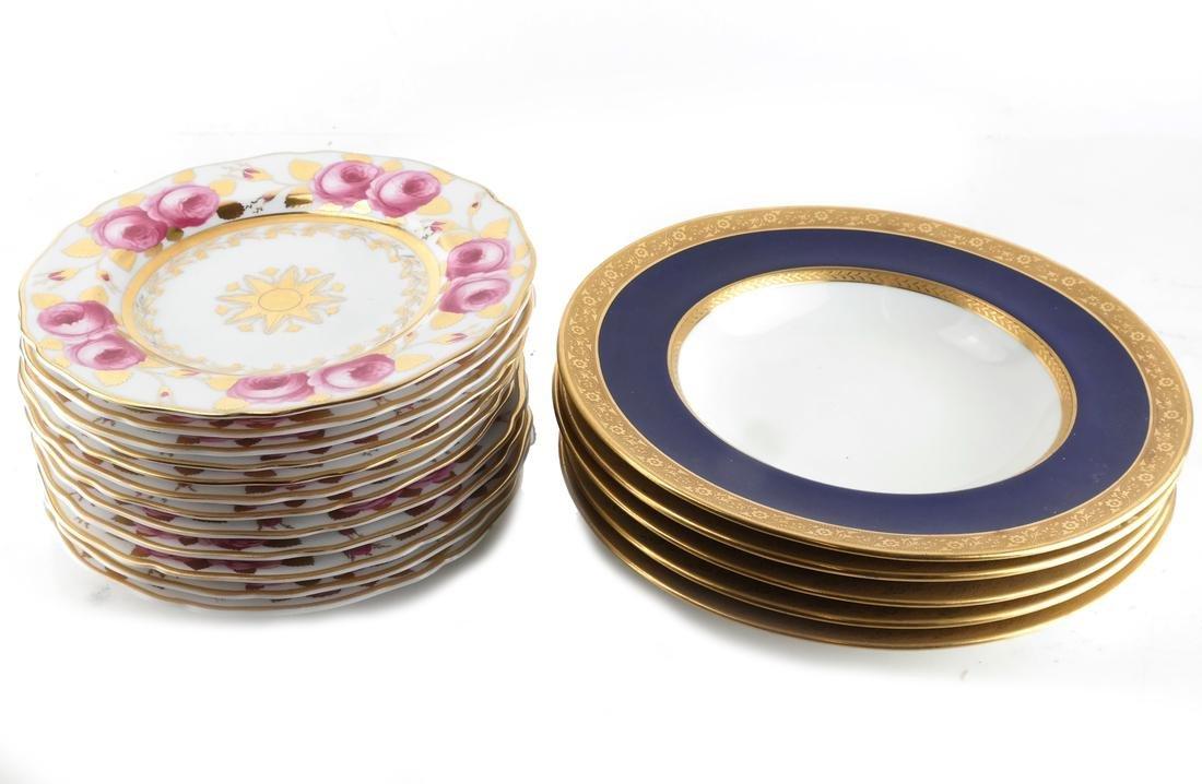 20 Cauldron & Spode Plates