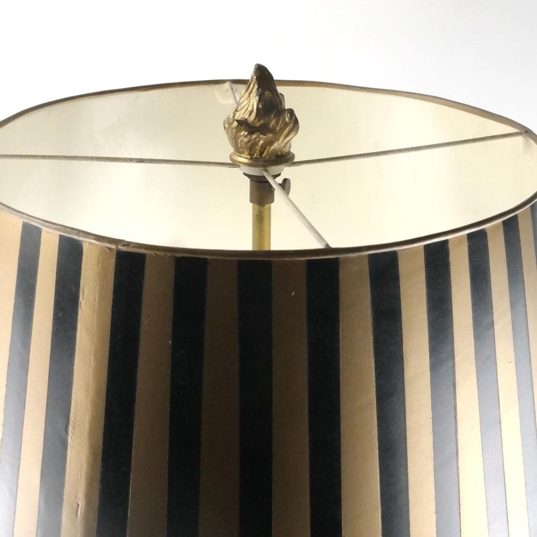 19th C. Classical French Bouillotte Lamp - 2