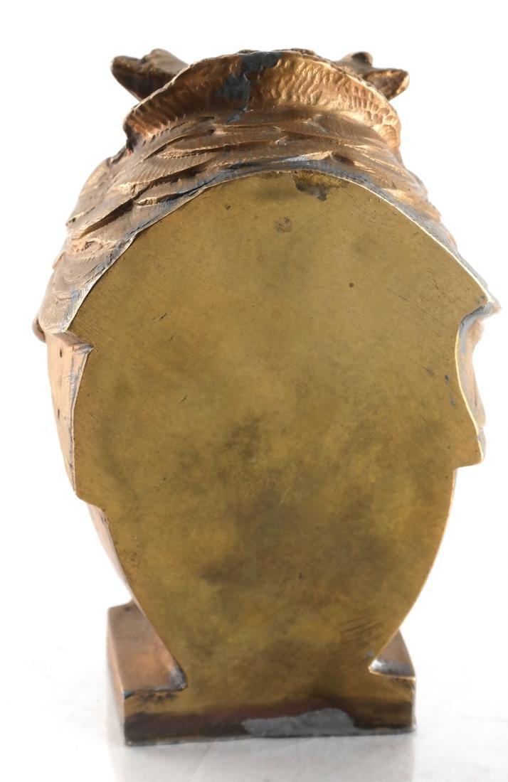 Bronze-Clad Sculpture of an Owl - 3