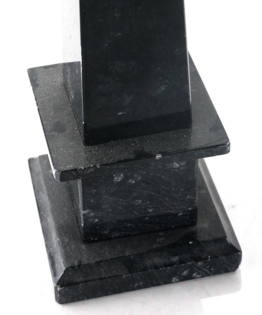 Pair of Hardstone Obelisks - 2