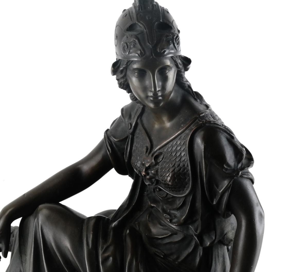 L. Pilet, Joan of Arc Bronze Sculpture - 2
