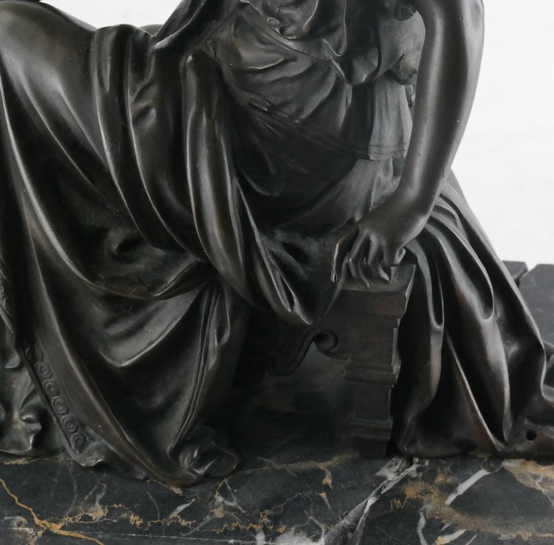 L. Pilet, Joan of Arc Bronze Sculpture - 3