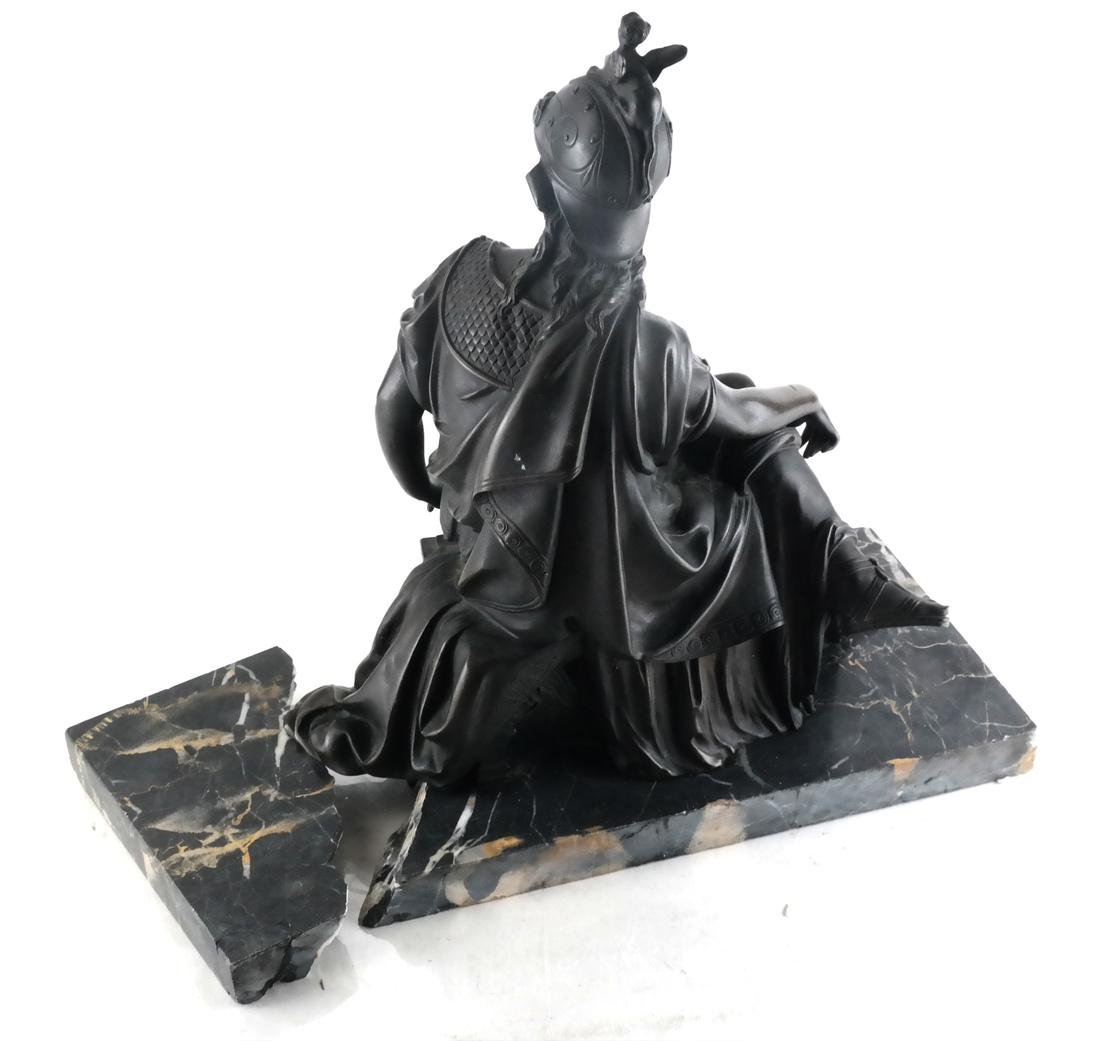 L. Pilet, Joan of Arc Bronze Sculpture - 5