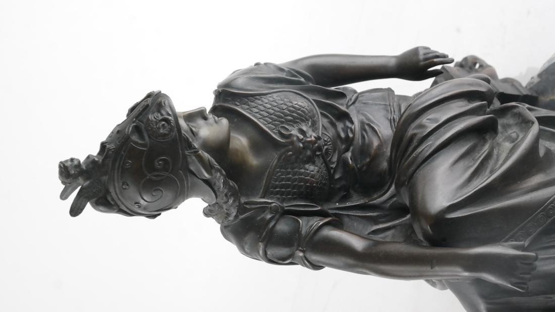 L. Pilet, Joan of Arc Bronze Sculpture - 6